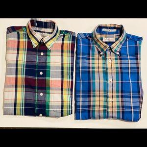 Vintage Levi's Colorgraphic s/s madras plaid shirt